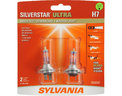 Sylvania SYLVANIA H7 SilverStar Ultra High Performance Halogen Headlight Bulb, (Contains 2 Bulbs) Replacement Lamp only $36.17